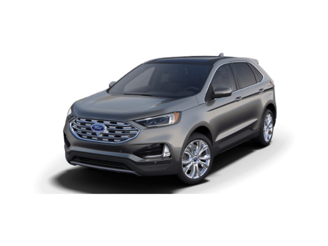 New 2019 Ford Edge Titanium Titanium FWD in Fishers, IN